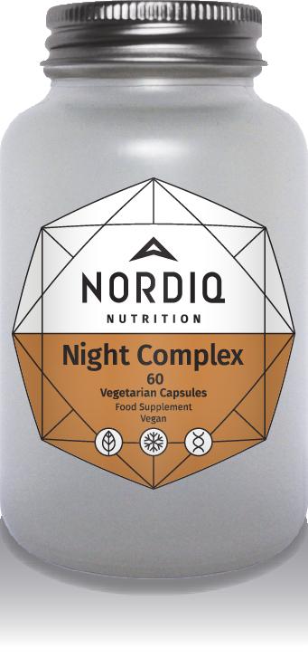 Night Complex, 60kaps. - Luonnonhelma