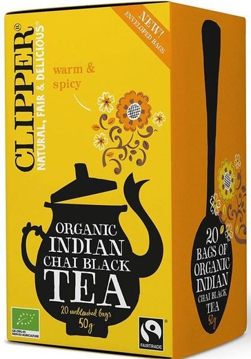 Indian Chai musta tee 20 ps, Clipper