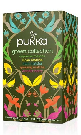 PUKKA Green Collection pussitee 20pss