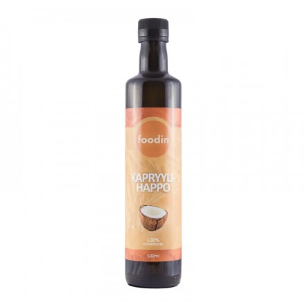 Foodin kapryylihappo, 500ml