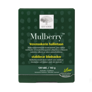 Mulberry tabletit 120tabl - New nordic