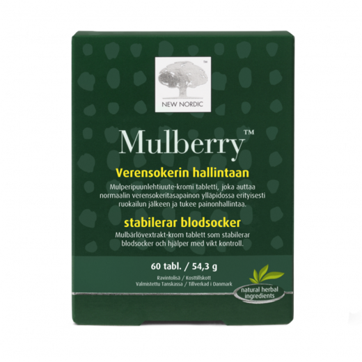 Mulberry tabletit 60tabl - New nordic