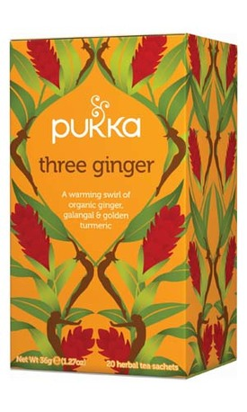 Pukka Three Ginger, 20pss